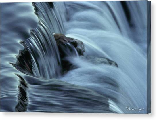 In The Flow Canvas Print