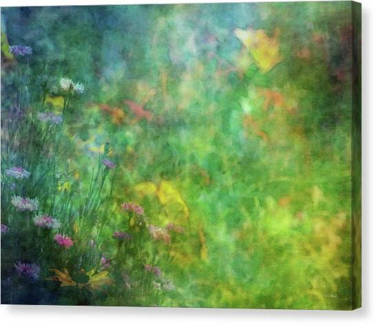 In The Garden 2296 Idp_2 Canvas Print