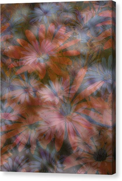 In The Garden Canvas Print by Eileen Shahbazian
