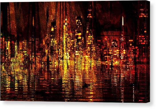 In The Heat Of The Night Canvas Print