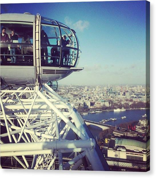 London Eye Canvas Print - London Eye  by Danielle Van helden