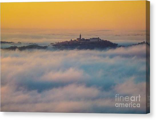 In The Mist 3 Canvas Print