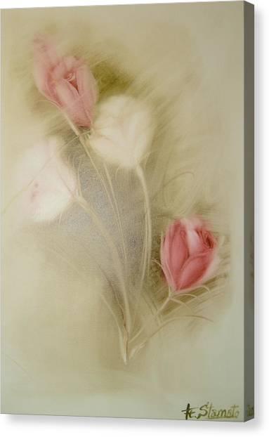 In The Mist Canvas Print by Fatima Stamato