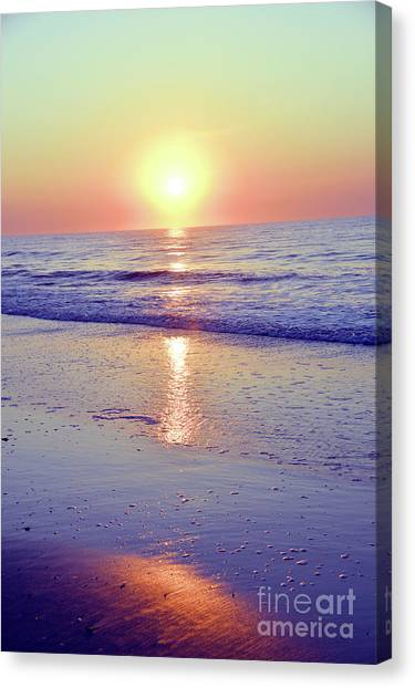 In The Morning Light Everything Is Alright Canvas Print