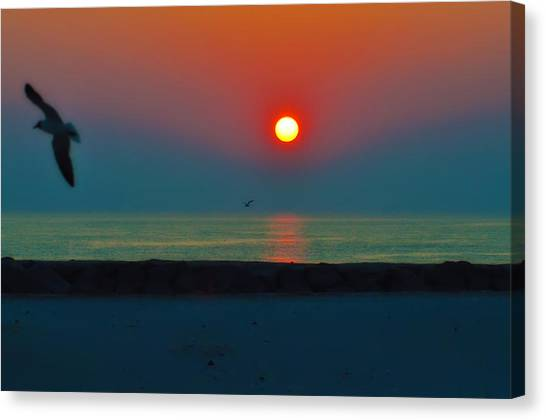 Tequila Sunrise Canvas Print - In The Morning Sun by Bill Cannon