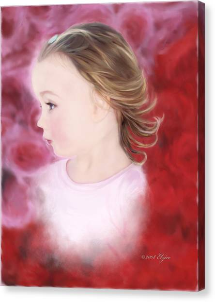 In The Pink Canvas Print by Elzire S