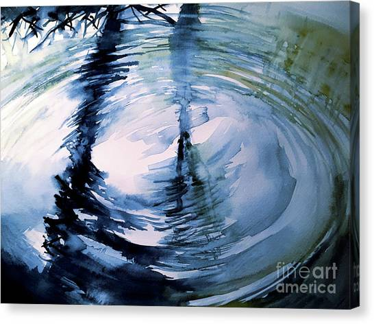 In The Ripple Canvas Print