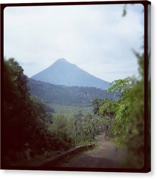 Arenal Volcano Canvas Print - Volcano by Sarah Koelpin