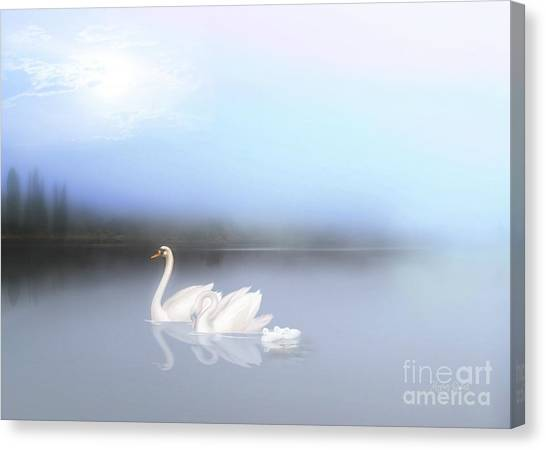 In The Still Of The Evening Canvas Print