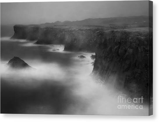 In The Storm 5 Canvas Print