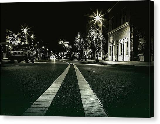 In The Streets Canvas Print