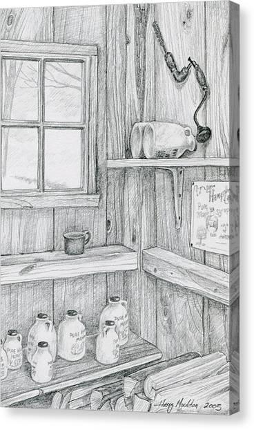 In The Sugar House Canvas Print