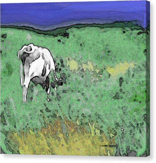 In The Sweet Fields Canvas Print