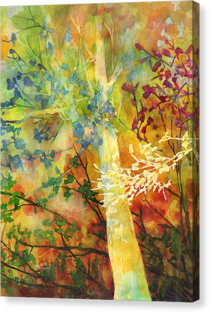 Beautiful Nature Canvas Print - In The Woods by Hailey E Herrera