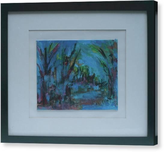 In The Woods Canvas Print by Vivien Ferrari