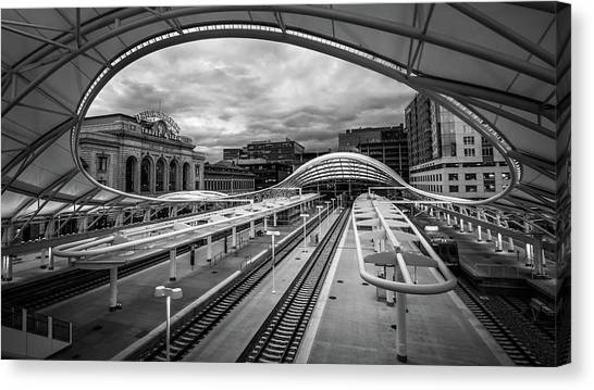 In Transit Canvas Print