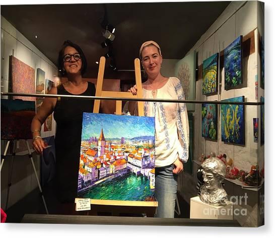 Ina And Mona Canvas Print