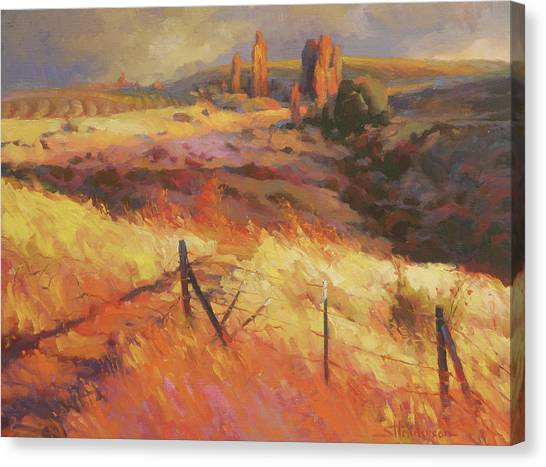 Countryside Canvas Print - Incandescence by Steve Henderson
