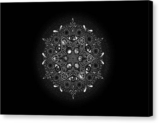 Islam Canvas Print - Inclusion by Matthew Ridgway