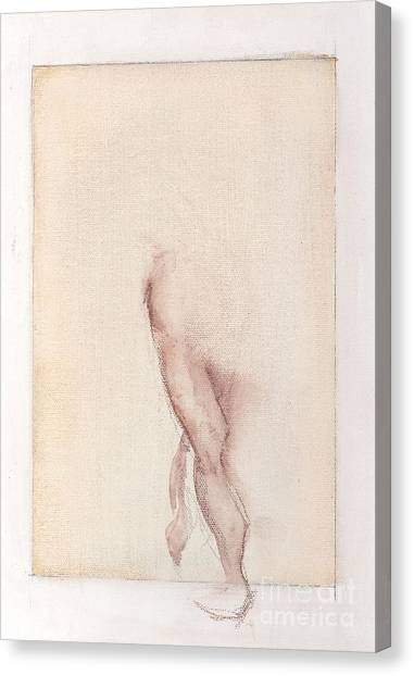 Incognito - Female Nude Canvas Print