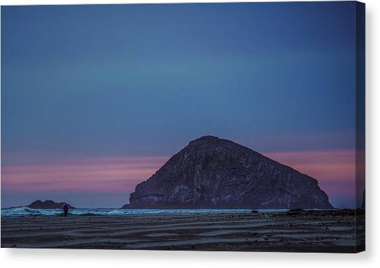 Incoming Blue Canvas Print