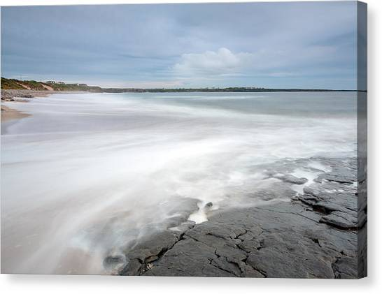 Incoming Tide Canvas Print by Ann O Connell