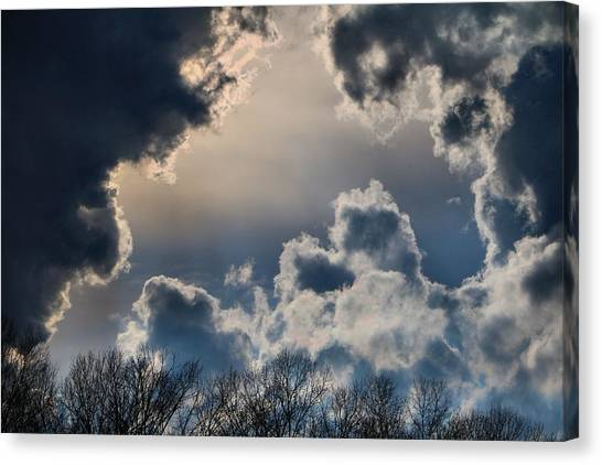 Incredible Clouds Canvas Print