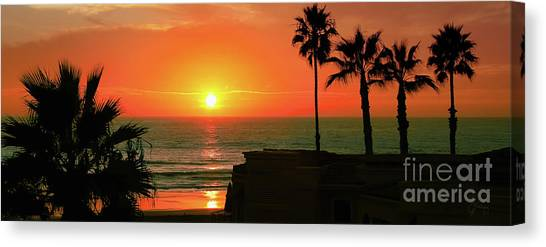 Incredible Sunset View Canvas Print