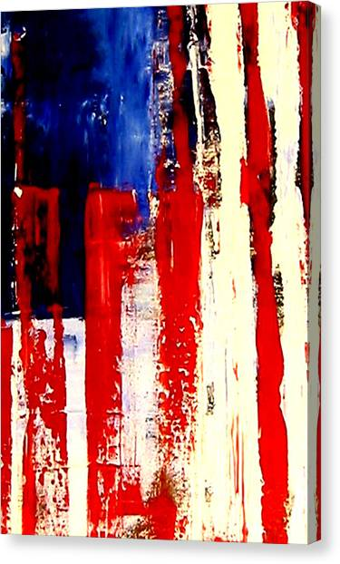 Independence Day Canvas Print by Charles Jos Biviano