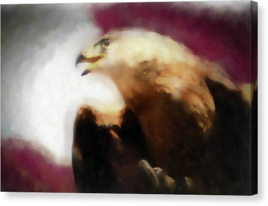 Independence Eagle Canvas Print
