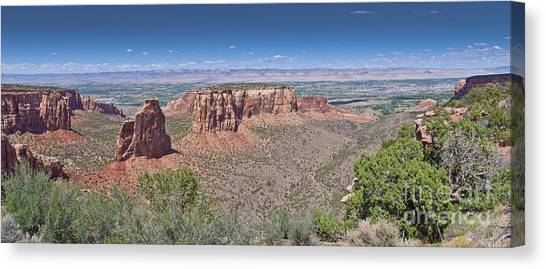 Independence Pano Canvas Print