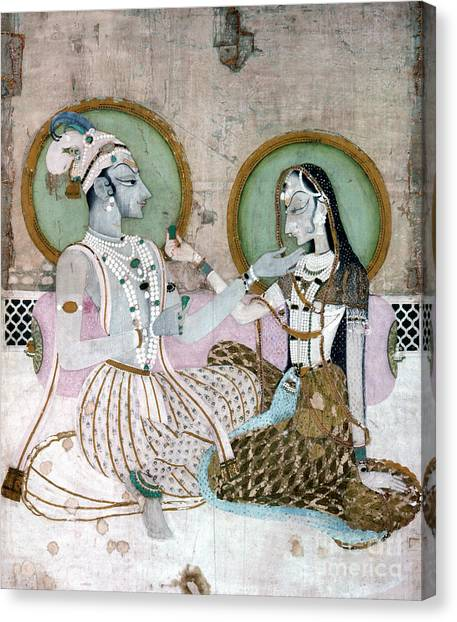 Fine Art India Canvas Print - India: Couple by Granger