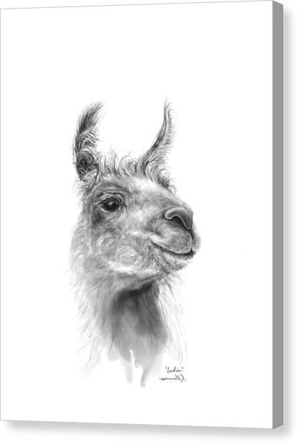 Fineart Canvas Print - India by K Llamas