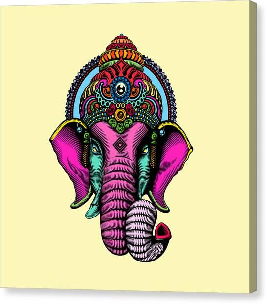 Buddha Canvas Print - India  by Mark Ashkenazi