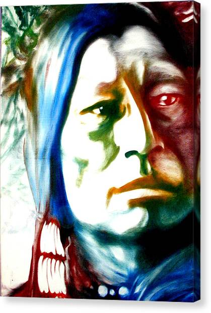 Indian 1 Canvas Print by Scott Robinson