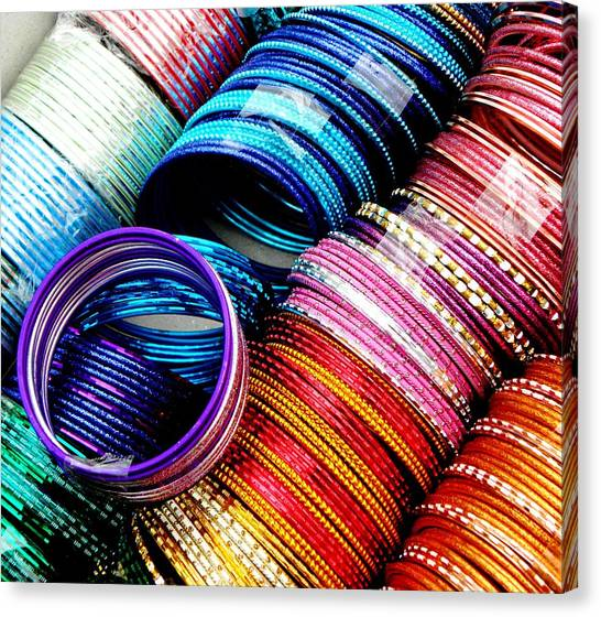 Indian Bangles Canvas Print