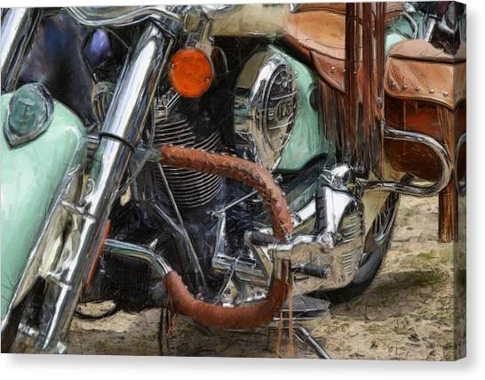 Indian Chief Vintage Ll Canvas Print