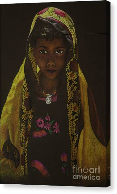 Indian Child Canvas Print