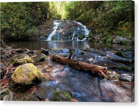 Indian Creek Falls Canvas Print