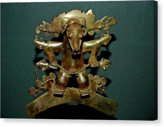 Smithsonian Museum Canvas Print - Indian Gold by LeeAnn McLaneGoetz McLaneGoetzStudioLLCcom
