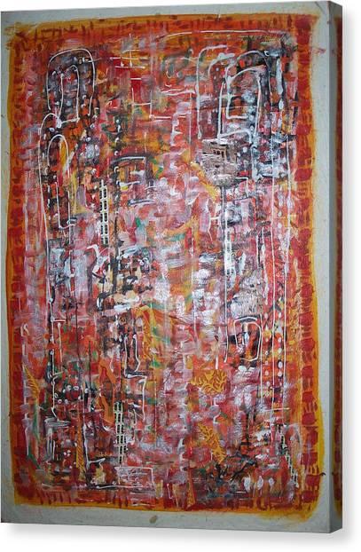 Indian Light Canvas Print by Helene  Champaloux-Saraswati