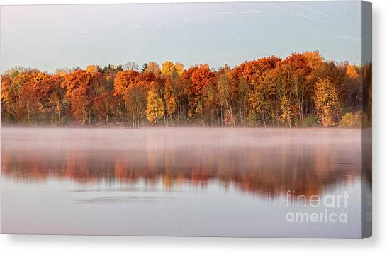 Indian Point Morning Canvas Print