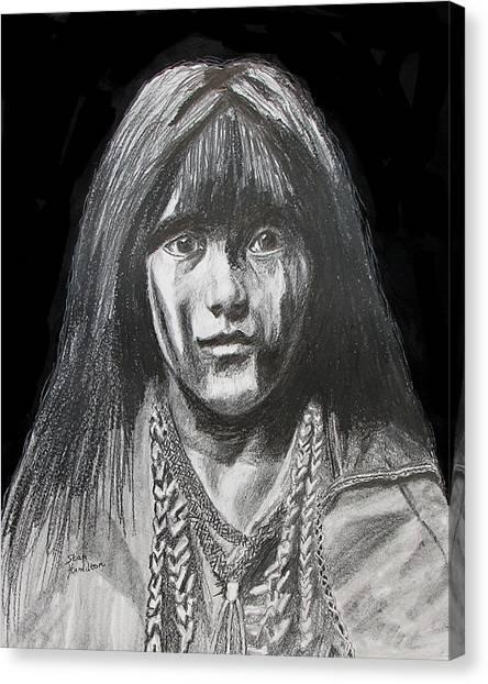 Indian Princess Canvas Print