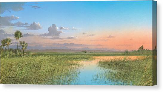 Indian River Canvas Print
