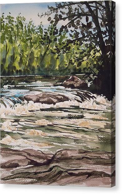 Indian River Ny 2 Canvas Print