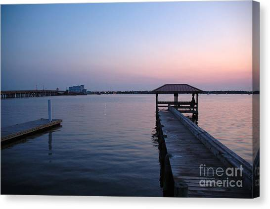 Indian River Sunset Canvas Print