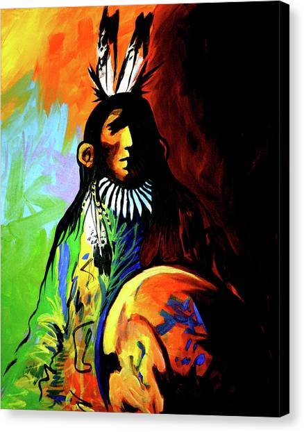 Indian Shadows Canvas Print
