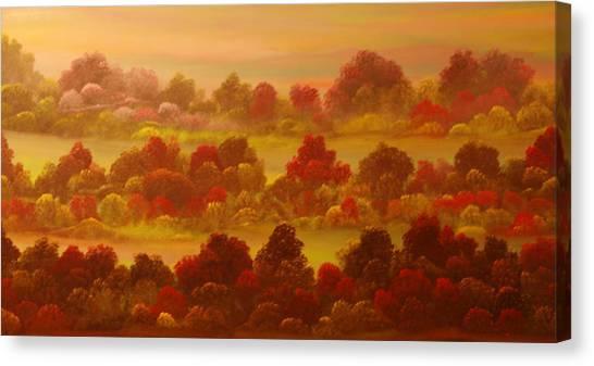 Indian Summer Canvas Print by David Snider