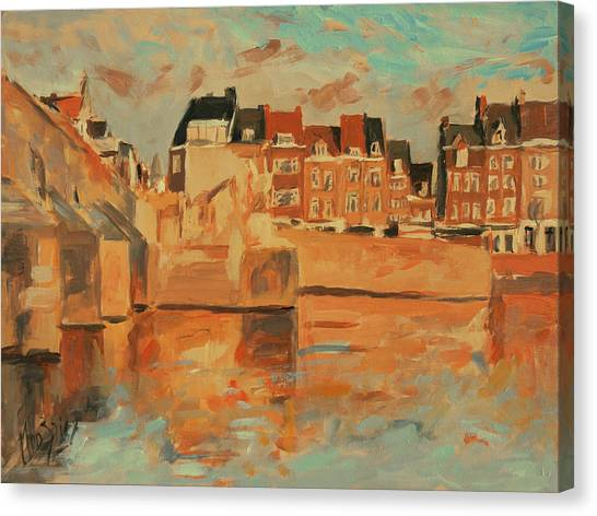 Briex Canvas Print - Indian Summer Light Maastricht by Nop Briex