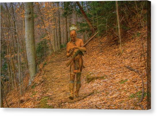 Indian Summer  Canvas Print by Randy Steele